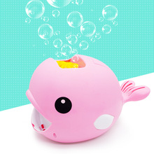 New Whale Bubble Machine Children Toys  Automatic Electric Bubble Machine Blower Wedding Maker Summer Outdoor Toy 8 pcs lot 35w bubble machine remote control wireless bubble machine bubble blower maker for stage party wedding concert