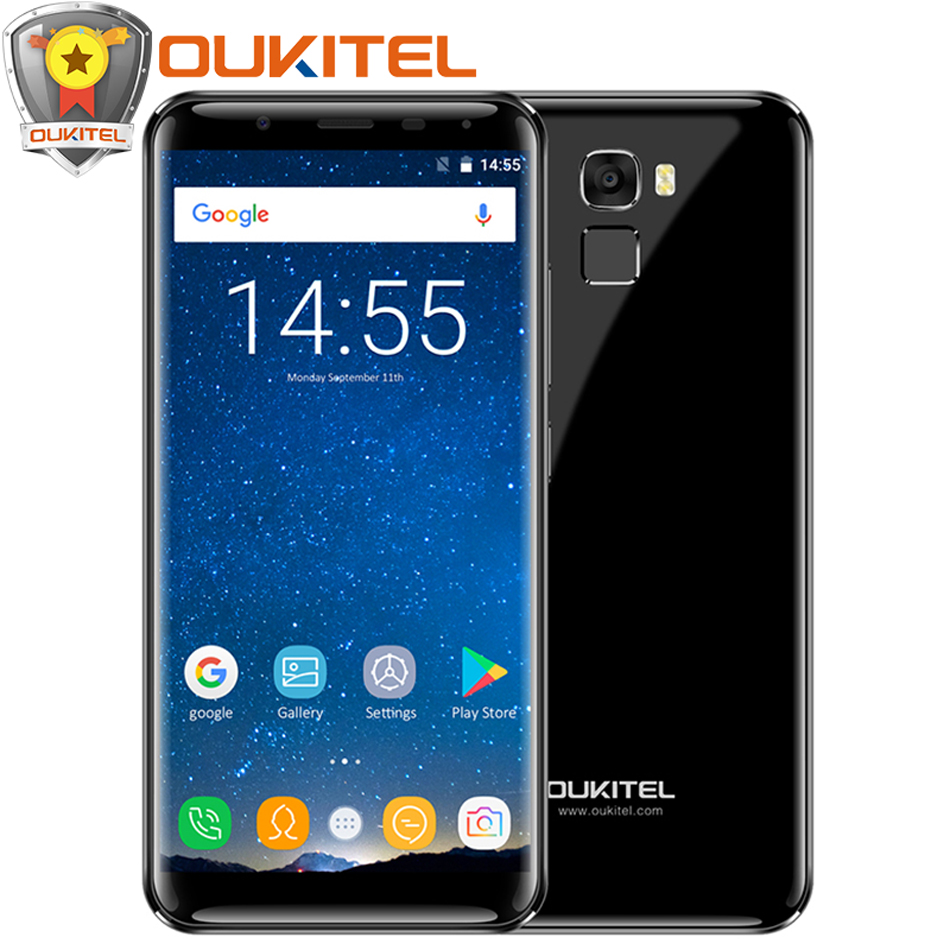 "Oukitel K5000 5.7""18:9 Aspect Ratio Display 4G Smartphone 5000mAh Android 7.0 4GB RAM 64GB Octa Core 16MP Touch ID Mobile phone"