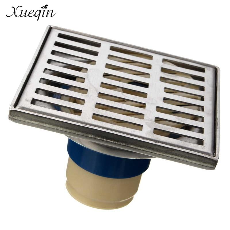 все цены на Xueqin Stainless Steel Bathroom Floor Drain Drainer Home Kitchen Shower Room Water Outlet Floor Drain Strainer