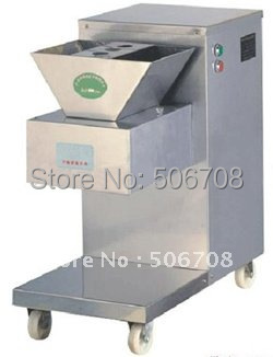 Free shipping by DHL QW model meat cutting machine 800kg hr meat cutter meat slicer