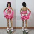 Super Sonico Pink Bear Gloomy Racing GK Ver Cosplay Costume Customize Any Size