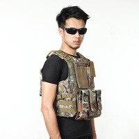 CS Live Garde de Champ Gilet Armée Tactique Gilet et pack Résistant À L'usure Anti-piercing Équipement A4306