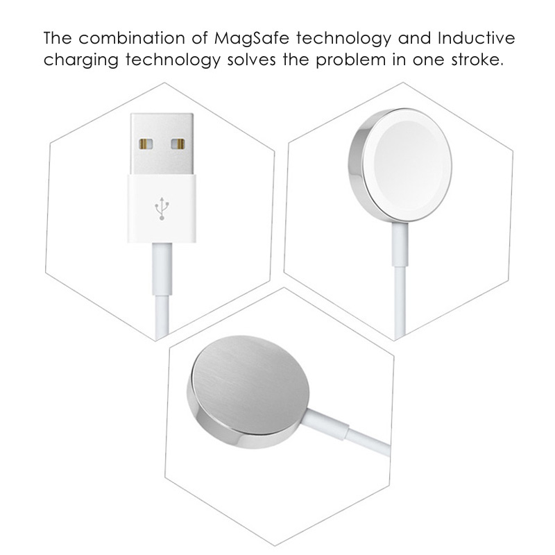 Suntaiho Wireless Charging For Apple Watch 4 Charger USB Cable Adapter Magnetic Wireless Charging for i watch Series 2/3 38/42mm