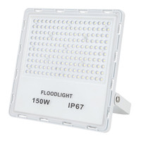 High Power LED Floodlight 30W 50W 100W 150W 200W Flood Light Outdoor Reflector Lighting White Waterproof IP67 Lamps Spotlight