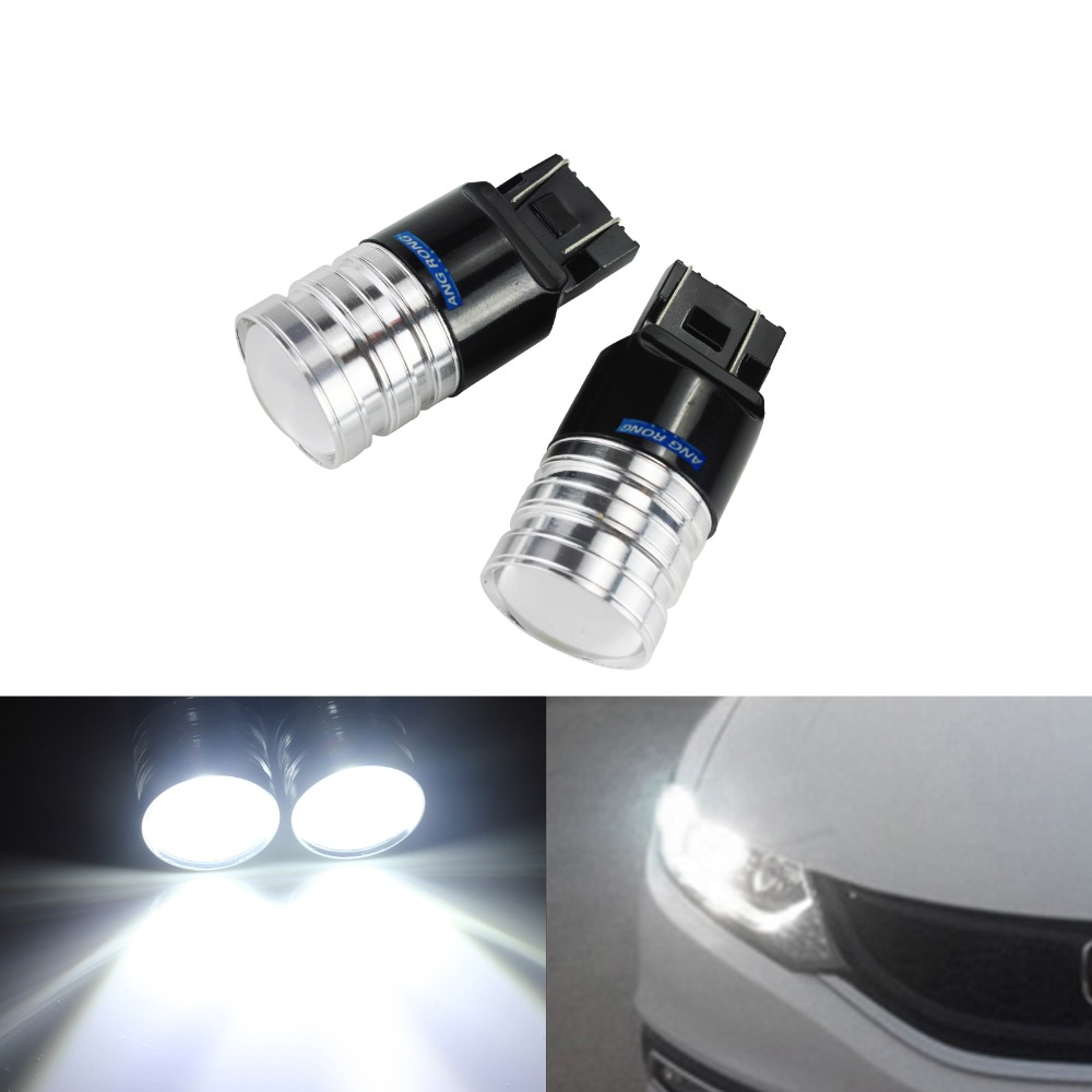 2x SAMSUNG Projector LED Brake Light 7440 7443 992 T20 30W White For TOYOTA