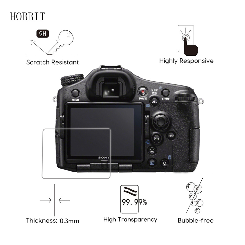 Screen-Protector Alpha Slr-Camera Digital Anti-Scratch-Film Tempered-Glass Sony For Slt-A77/a99