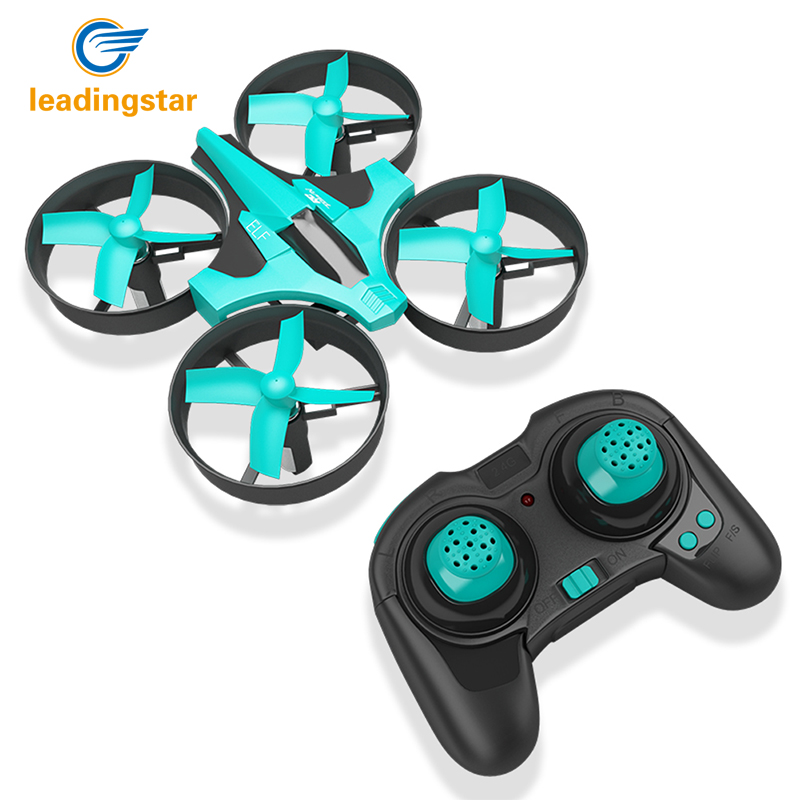 LeadingStar Original ELF VS H36 Mini Drone 6 Axis RC Micro Quadcopters With Headless Mode One Key Return Helicopter цена 2017