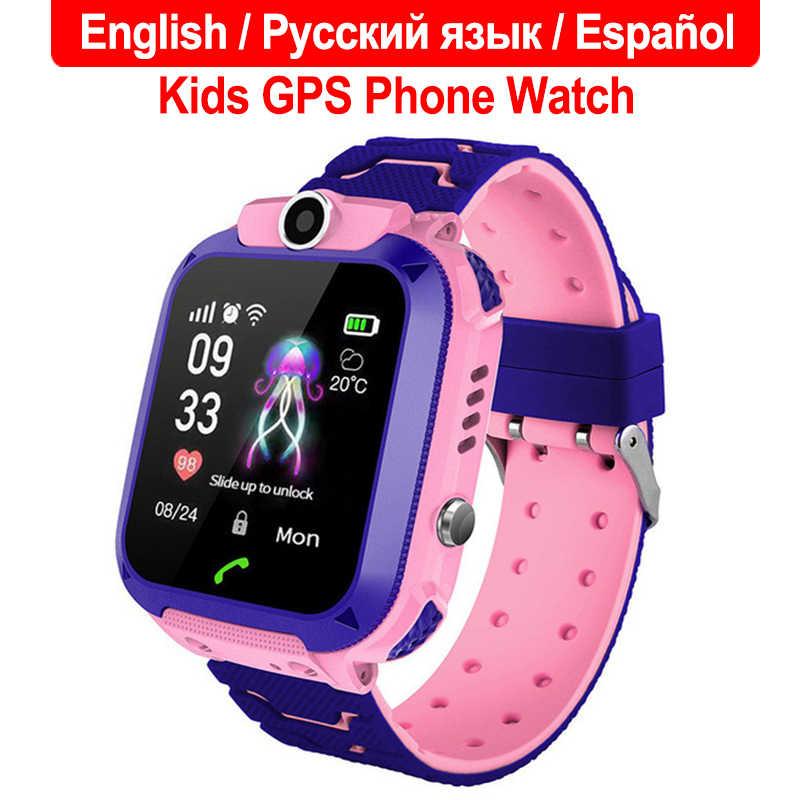 2019 Baru Tahan Air Q12 Smart Watch Multifungsi Anak-anak Digital Jam Tangan Bayi Watch Ponsel untuk IOS Android Hadiah Mainan Anak