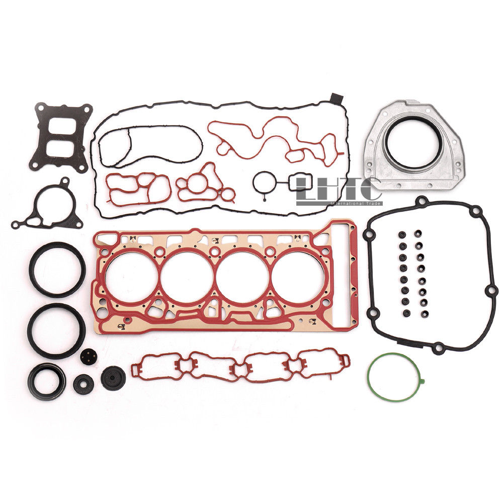 Engine Cylinder Head Overhaul Gaskets Seals Kit Set For V W Je tta GLI Golf G TI R MK7 AUDI A3 S3 A4 A5 A6 Q5 1.8 2.0 TSI TFSI apple iphone5 оболочки новые покрытия iphone4 leopard 4s 5s оболочки оболочки мобильный телефон
