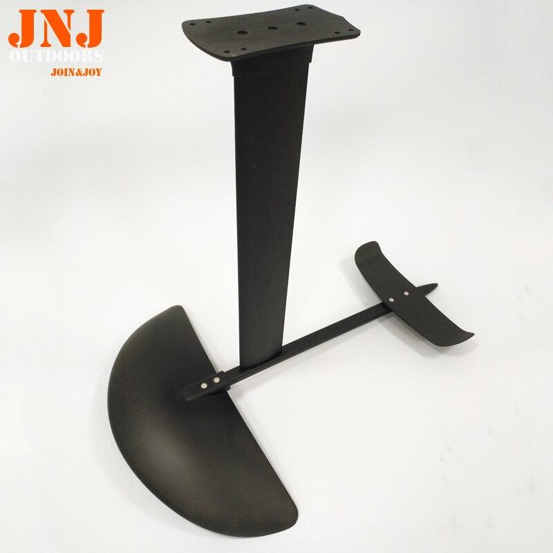top quality hydrofoil carbon foil with alumimum mast 100% carbon fiber 97cm hydrofoil mast