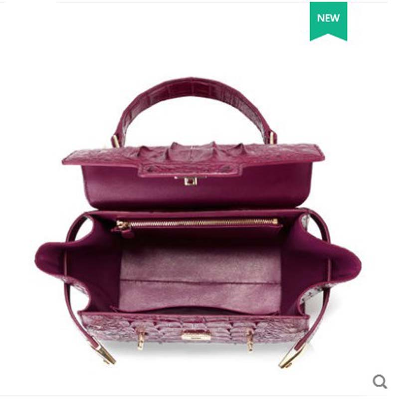 6a44a01b45e1 gete 2018 Spring and summer new Thai alligator skin handbag handbags  leather fashion wing bag crocodile. sku  32869473222