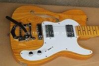 Free Shipping Top Quality Semi Hollow Ash wood F TL Guitar