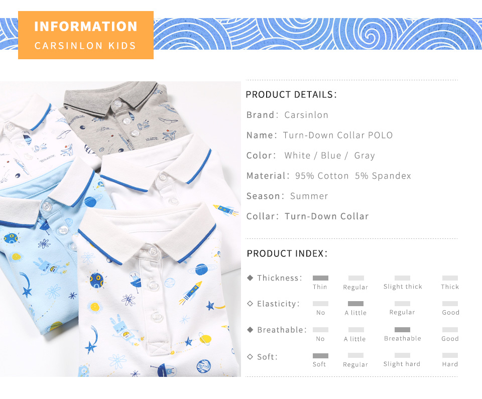 ᑐEnvío libre Niños verano Polos rayas manga corta cuello textil ...