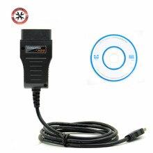 Кабель XHORSE HDS OBD2, Диагностический кабель для Honda HDS, кабель для K Line/KWP/CAN, автоматический диагностический инструмент, обновление ПО CD