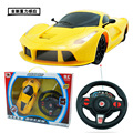New children's electric 1:16 remote control car rechargeable gravity induction steering wheel racing car