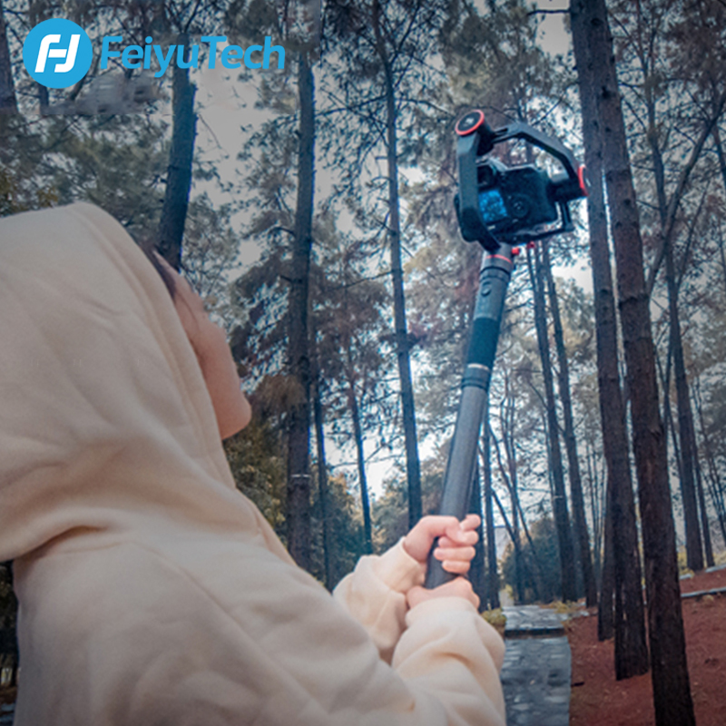 Image 5 - FeiyuTech Handheld Bar Extension Carbon Pole for Feiyu AK4000 