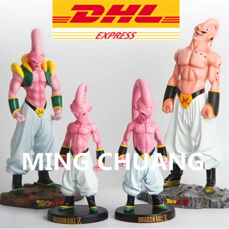 Dragon Ball Statue Majin Buu Last BOSS 1:4 Bust Piccolo Gohan Gotenks Goku Fit Resin Action Figure Collectible Model Toy Box W6