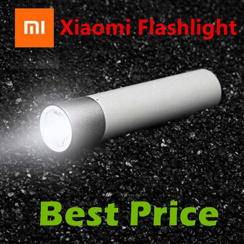 D'origine Xiaomi Portable lampe de Poche Torche 11 Grade Éclat Contrôle Extrême Simple Conception 3350 mAh Li-Batterie de Charge D'urgence