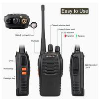 מכשיר הקשר 10 PCS Retevis H777 רדיו מכשיר הקשר 5W UHF400-470MHz 16CH Ham Radio Portable A9105A משדר Hf Comunicador רדיו שני הדרך (2)