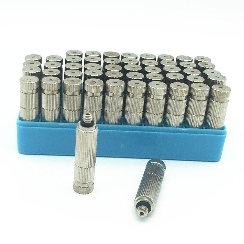 A082 50 sztuk wysokiej ciśnienia dysz natryskowych z mosiądzu Anti Drip 10/24 UNC 0.1/0.2/0.3/0.4 /0.5mm w Opryskiwacze od Dom i ogród na  Grupa 1