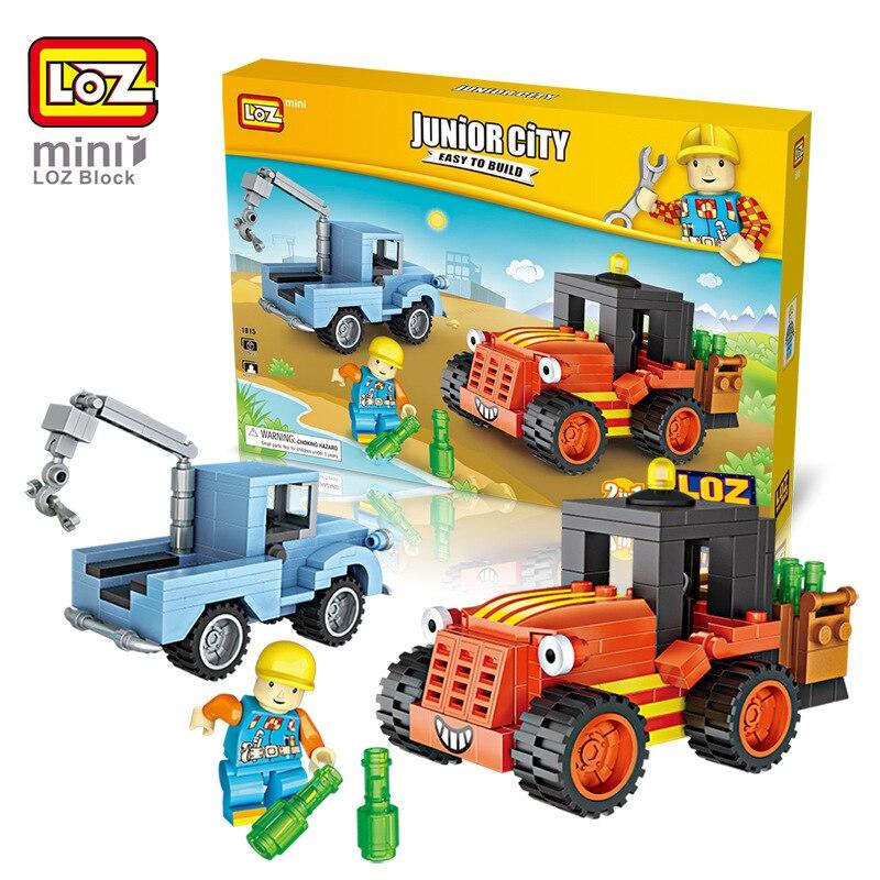 LoZ мини блоков техника мини колеснице elevateur Жуэ Грю Камион Modele Наборы де строительства assemblee Jouets Pour Enfants