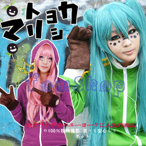 Image 5 - Anime Vocaloid Matryoshka Miku 렌 린 구미 코스프레 의상 후드 티 자켓 유니섹스 후드 지퍼 코트 스웨트 무료 배송