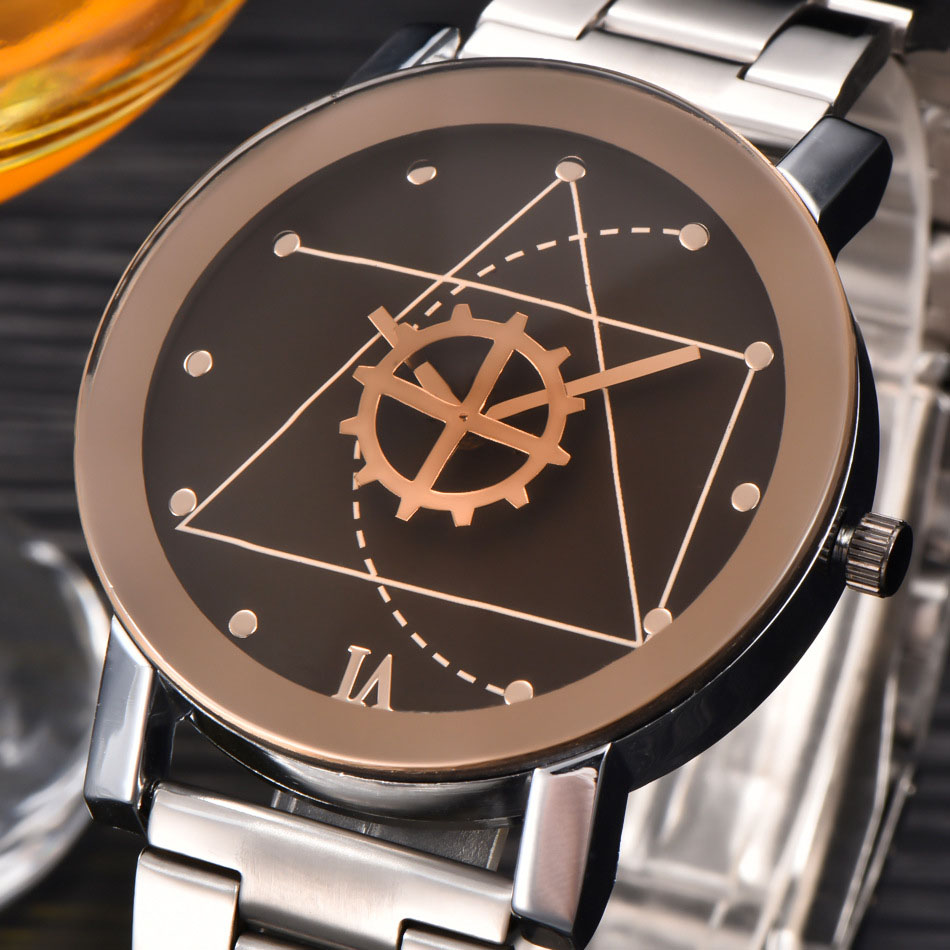 Top Luxury Brand Fashion Stainless Steel Quartz Watch Men Women Wrist Watch Wristwatches Clock Hour Male Relogio Masculino 8O63 new luxury men watch roman numbers stainless steel quartz wrist watch male clock mens watches relogio masculino 2018