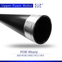 1 PCS rolo de calor Para AR 1818 Máquina de Fotocópia AR161 AR160 Rolo Fusor Superior de Altíssima qualidade Copiadora Peças De Reposição