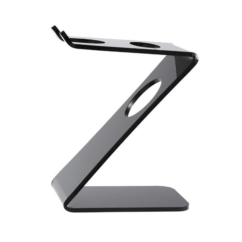 Drip Shaving Arcylic Stand For Shaving Brush Holder Barber Tool black salon shaving tool  4