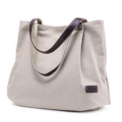 2017 Fashion Canvas Bag Women Handbag Tote Shoulder Bags Messenger Bags Casual Hobos Bolsa Feminina High Quality Large Capacity