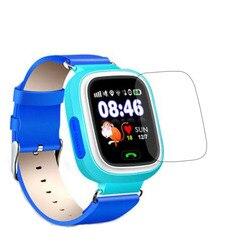 Мягкая прозрачная защитная пленка для экрана для смарт-часов Q90 GPS трекер локатор для малышей и детей SOS Вызов Смарт-часы