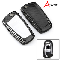 2016 New 100 Genuine Carbon Fiber Car Auto Remote Key Cover Fob Holder Skin Case Shell