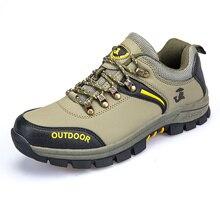 2017 Лидер продаж Best открытый Для мужчин кожа Mountain Обувь Кружево до трекинговых Сапоги и ботинки для девочек осень-зима кемпинг обувь большой Размеры 37-47