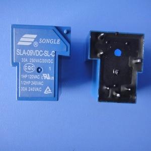 Image 2 - Livraison gratuite lot (10 pièces/lot) 100% Original Nouveau SONGLE SLA 09VDC SL C SLA 9VDC SL C 5 BROCHES 6 BROCHES 30A250VAC/30VDC 9VDC Relais De Puissance