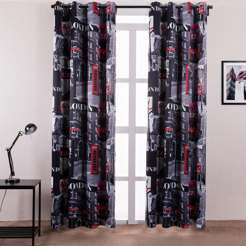 London Themed Curtains Curtain Menzilperde Net