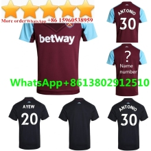 697753704df AAA+ Thai Quality West Ham United Soccer Jersey 2017 2018 Chandal Football  Away 2017/18