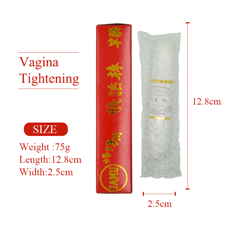 Vaginal tightening to narrow vagina Yam reduction Vagina shrinking stick wholesale feminine hygiene wand Vagina stick 75g L size