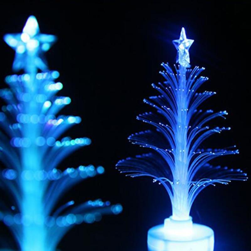 Christmas Tree 7 color Changing Colorful Fiber Optic Nightlight Christmas Tree PartyIndoorHolidayChristmas Decor (5)