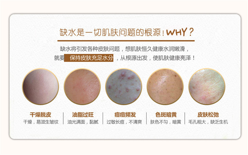 Brand BIOAQUA Skin Care Silk Protein Hyaluronic Acid Liquid Anti Wrinkle Serum Whitening Moisturizing Anti Aging Toner 100ml