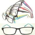 20 pcs um lote por atacado elegante 78187 de acetato de injeção dupla cores praça ultra leve simples armações de óculos óptica
