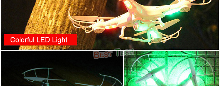 X5C-1 RC Drone with Headless Auto-return Professional Remote Control X5C Quadcopter 2.4G Drones can add 720P HD Camera 12