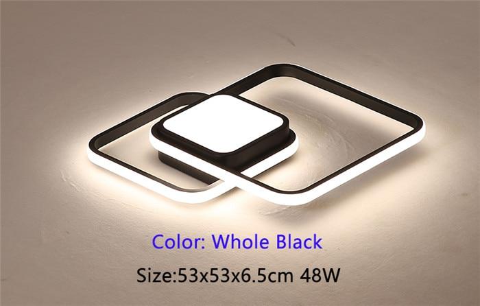 53x53cm Whole black