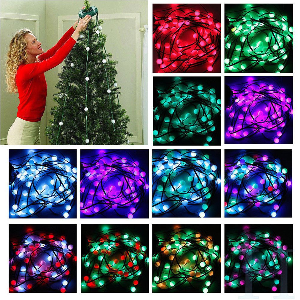 New! 64 Flashing Merry Christmas Tree Dazzling Decorations New Year Decoration Christmas Decoration for Home Festive Atmosphere