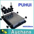 PUHUI ручной трафарет принтера, футболки трафаретная печать машины 440 Х 320 мм средний размер