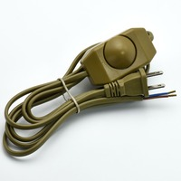 High Quality VDE Lamp Dimmer Switch Line 110V Table Floor Lamp Power Cord Dimming Switches Wire