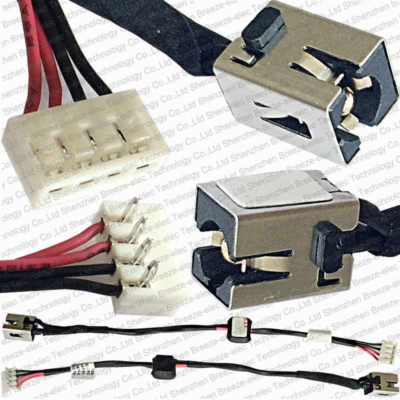 satellite wiring promotion shop for promotional satellite wiring 5 pieces lot 100% original new laptop ac dc power jack socket wire cable harness for toshiba satellite p n dc30100j900 rev 0a