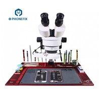 PHONEFIX WL Aluminum Alloy Pad Multi function Repair Pad Microscope Base Mobile Phone Repair Maintenance Platform + Only Pad