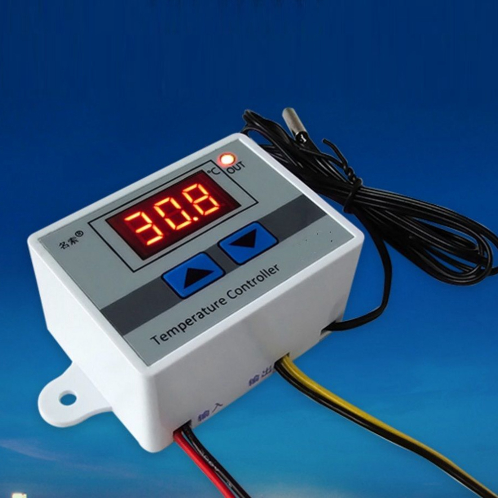 Digital LED Temperature Controller 10A Thermostat Control Switch Probe AA3427-AA