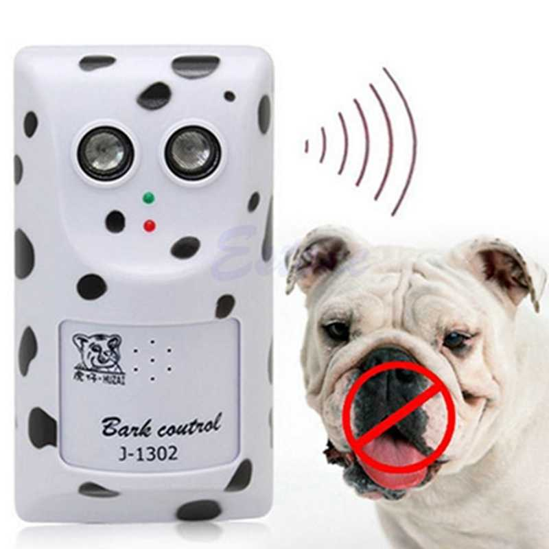 Humanely Ultrasonic Anti No Bark Control Device Stop Dog Barking Silencer Pet Dog Supplies