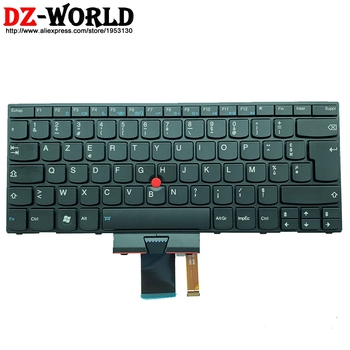 New Original FR French Bachit Keyboard for Lenovo Thinkpad X1 1293 1294 Backlight Teclado 04W2768 0B35724